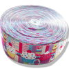 Colorful Printed Satin Ribbons QD-R-0001